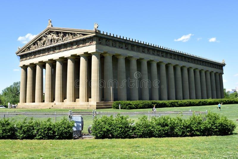 Nashville Parthenon stock foto
