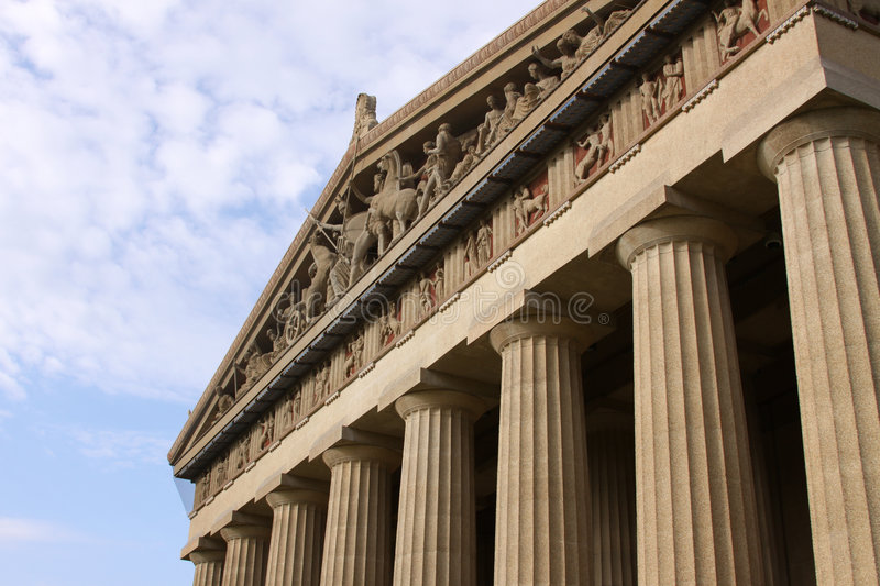 Nashville Parthenon royalty-vrije stock fotografie