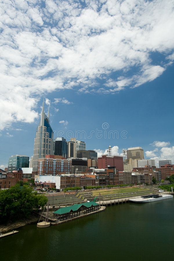 Download Nashville Skyline stock image. Image of city, building - 9198869