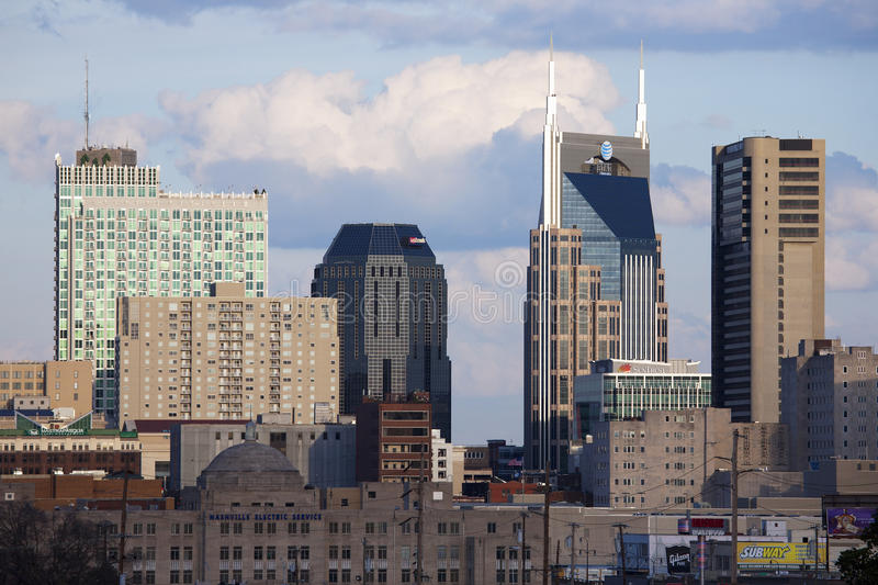 Download The Nashville skyline editorial photo. Image of cloud - 35515251