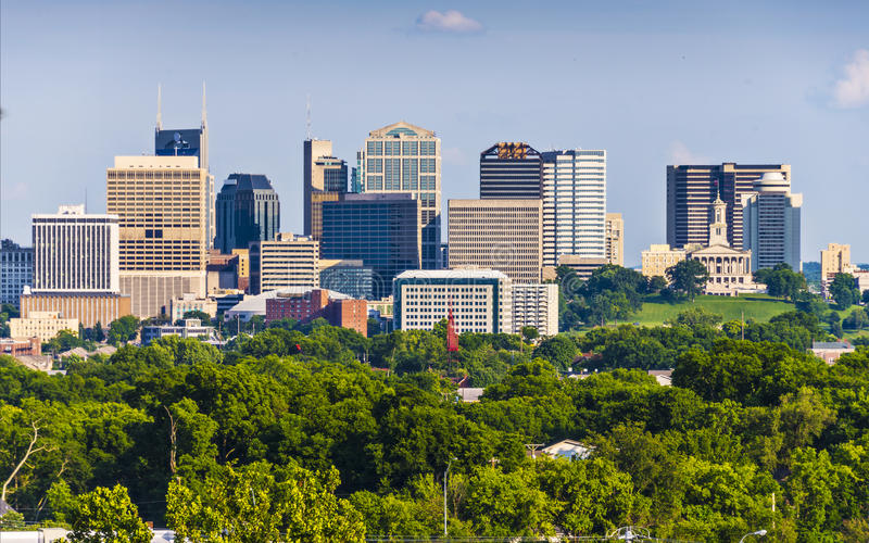 Nashville Tennessee photographie stock