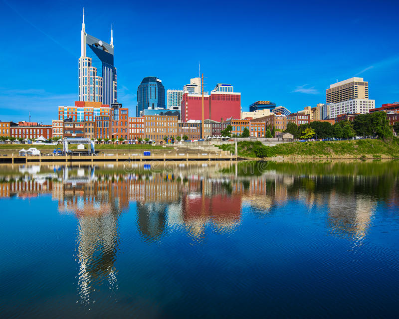 Nashville Tennessee royalty free stock photo