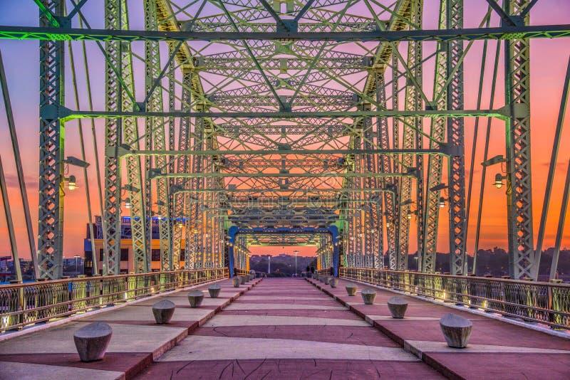 Nashville, Tennessee, Etats-Unis au lever de soleil images libres de droits