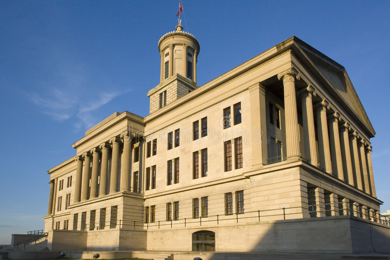 Nashville, Tennessee - State Capitol stock image