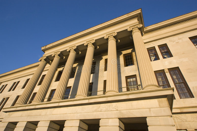 Download Nashville, Tennessee - State Capitol. Stock Image - Image: 4026501
