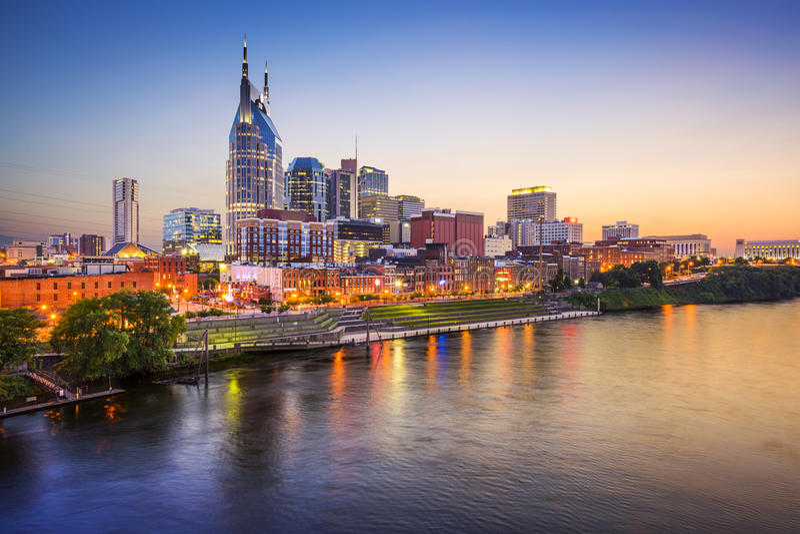 Nashville, Tennessee, usa obraz stock
