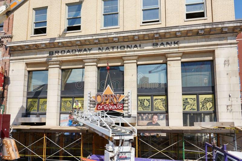 NASHVILLE, TN, usa - KWIECIEŃ 14, 2017: Nashville Opry oryginałów st obraz stock