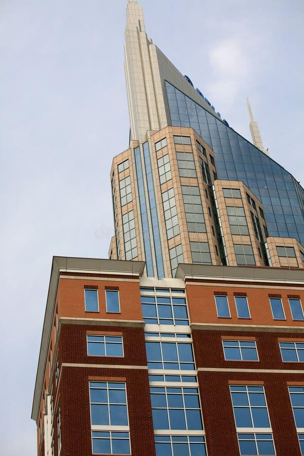 Nashville w centrum, fotografia royalty free