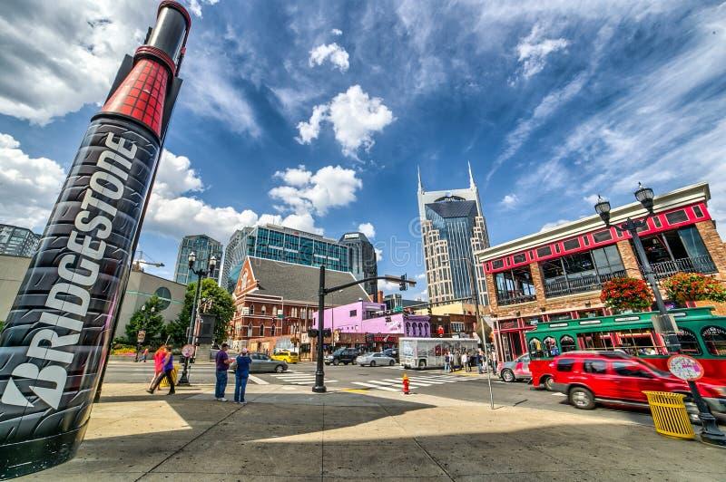 Nashville w centrum, fotografia stock