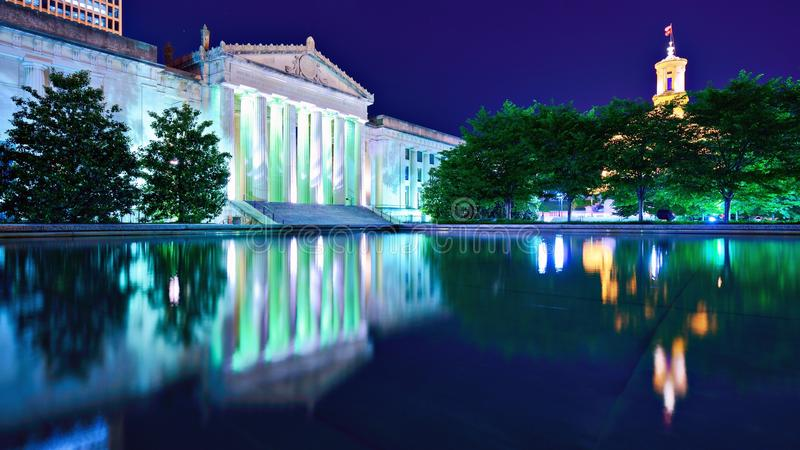 Nashville War Memorial Auditorium royalty free stock photos