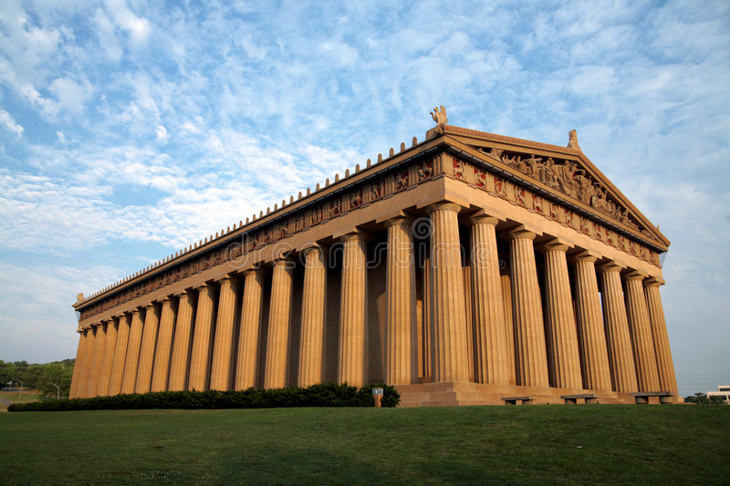 Nashvilles Parthenon stockbild