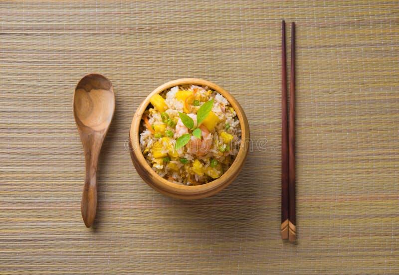Nasi Goreng, индонезийский жареный рис стоковые фотографии rf