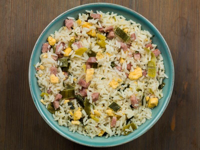 Nasi Goreng Indonesian Style Food imagens de stock