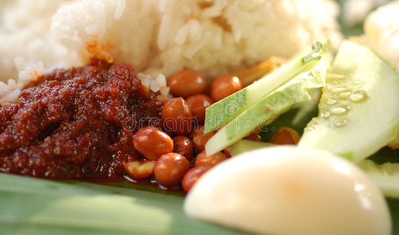 Nasi Lemak fotos de stock