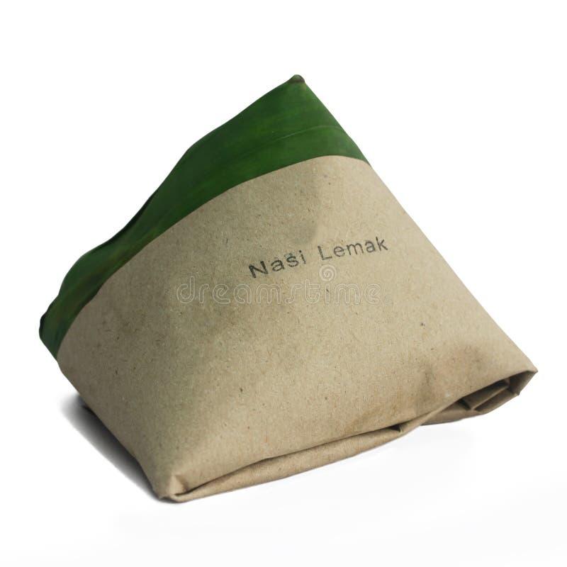nasi malay lemak традиционное стоковые изображения
