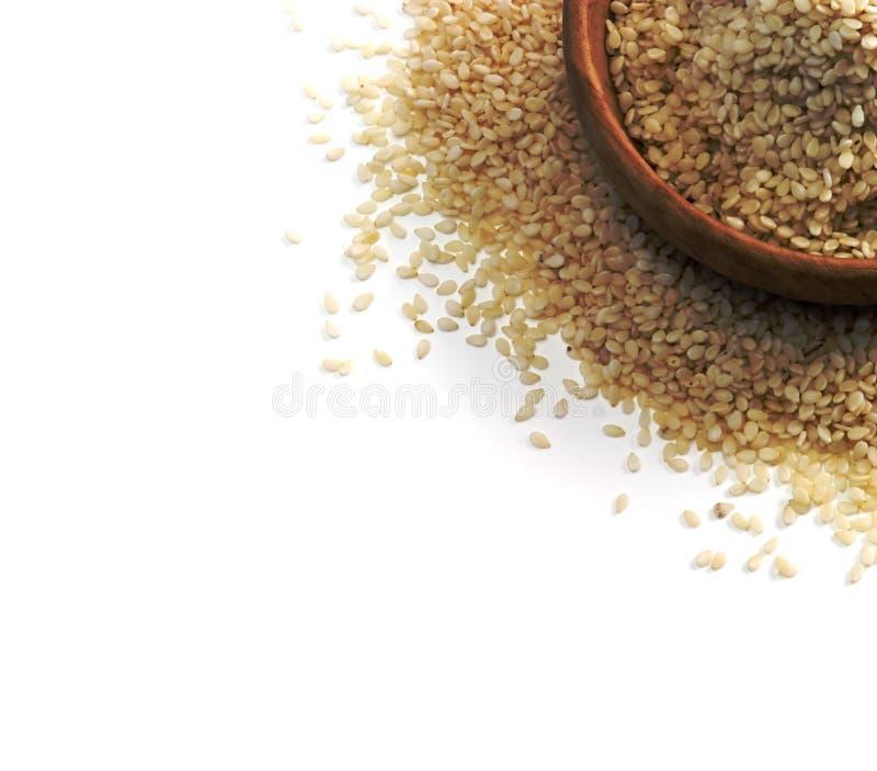 nasiona sezamu zdjęcie stock