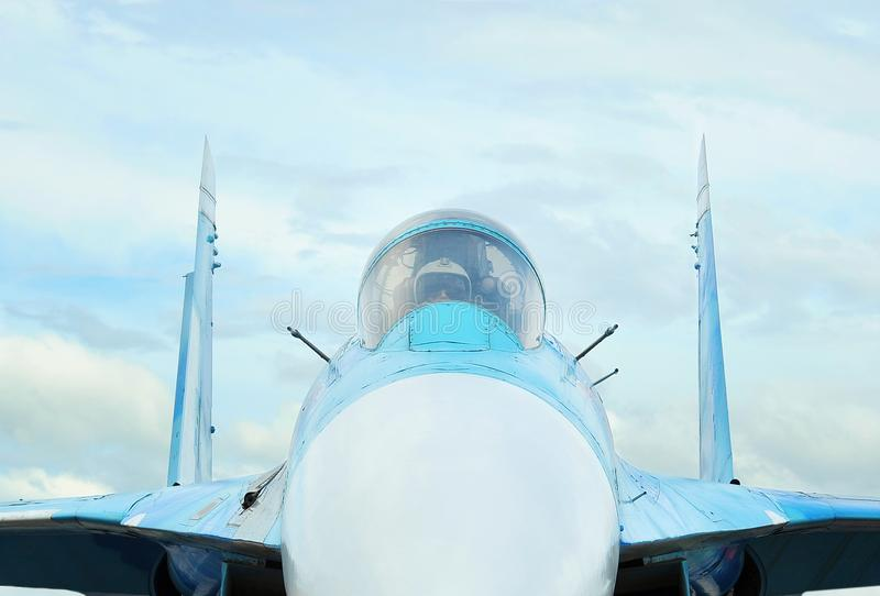 Naso del Mikoyan MiG-29 immagine stock libera da diritti