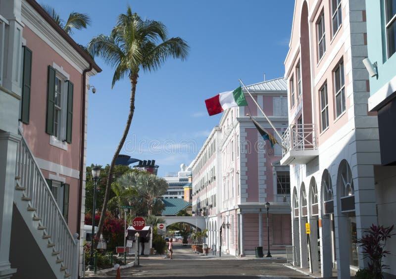 Nassau śródmieścia ulicy obrazy stock