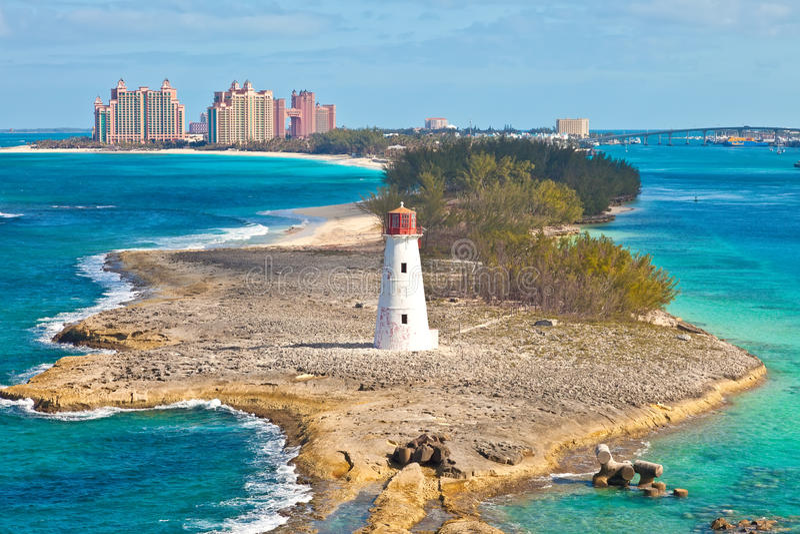 Nassau, Bahamas stockbild
