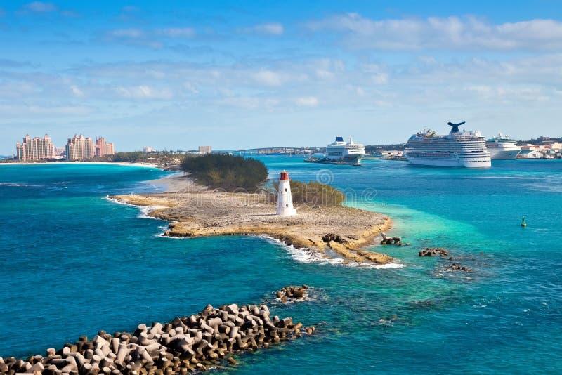 Nassau, Bahamas stockfotografie