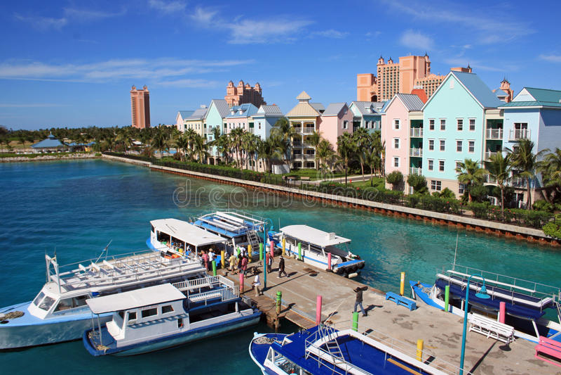 Nassau, Bahamas, karibisch stockbild