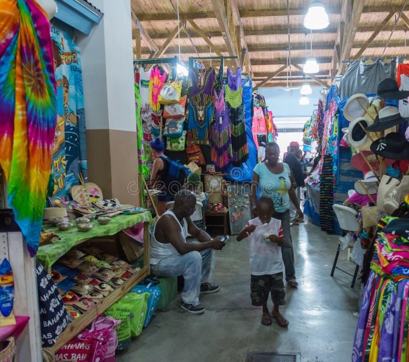 Nassau, Bahamas Straw Market photo stock