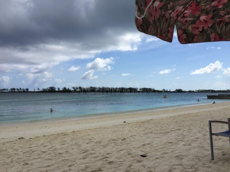 2017 Nassau de Bahamas Beachside royalty-vrije stock fotografie