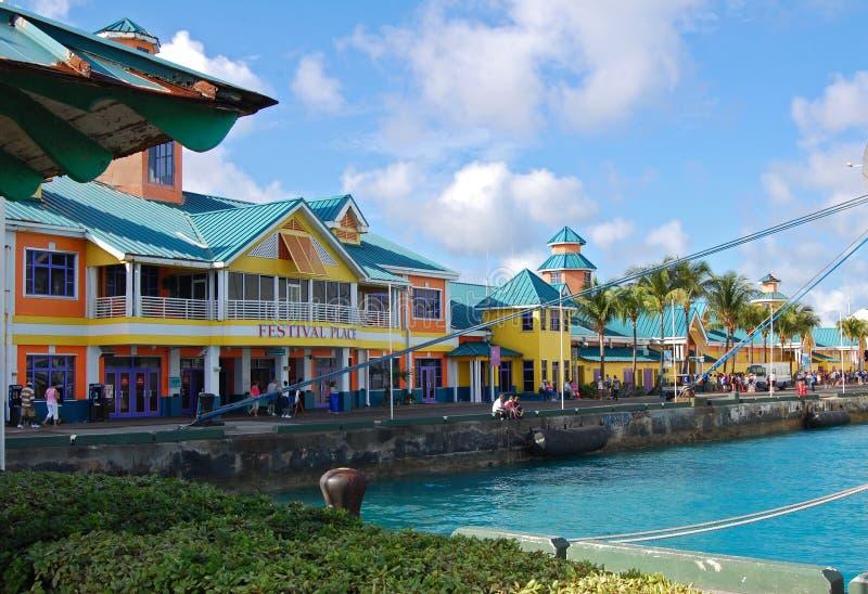 Nassau de Bahamas Haven royalty-vrije stock afbeeldingen