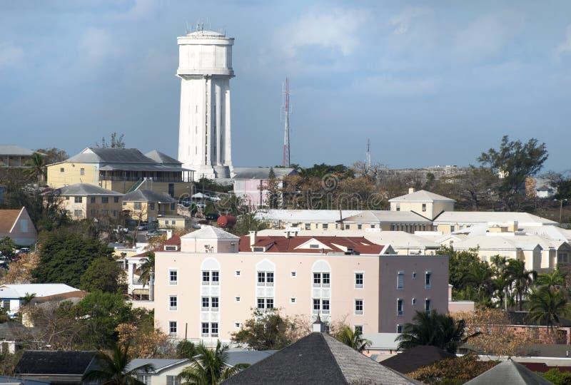 Nassau de Watertoren Van de binnenstad royalty-vrije stock foto's