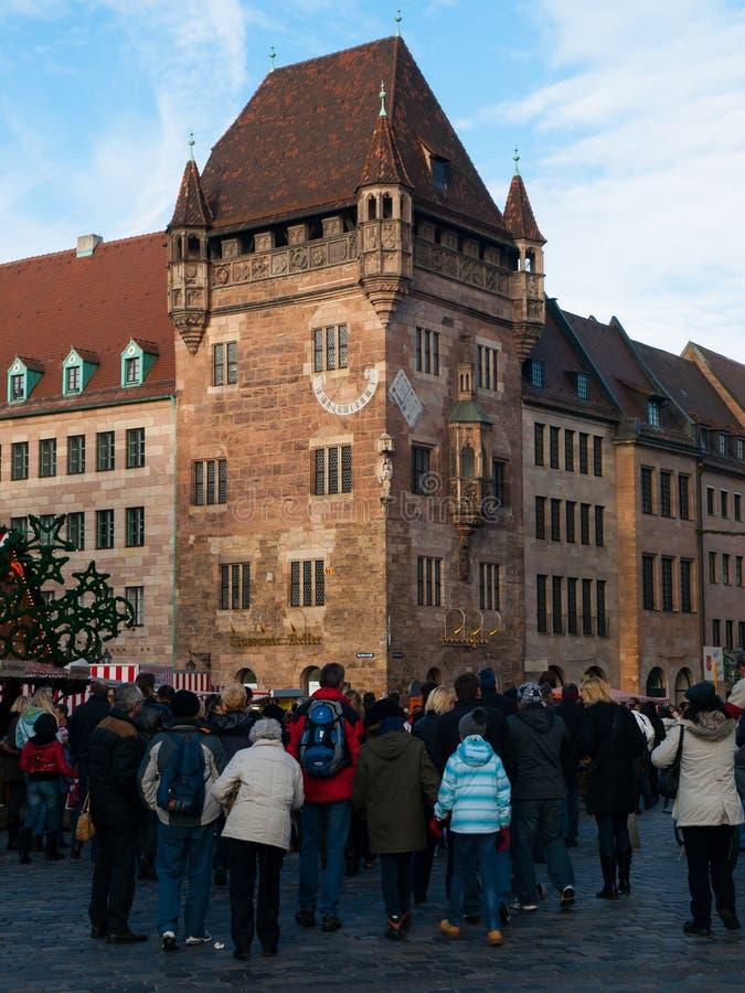 Nassau dom w Nuremberg fotografia royalty free