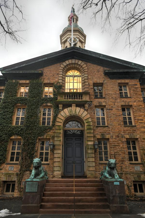 Nassau Hall - Universität von Princeton stockbilder