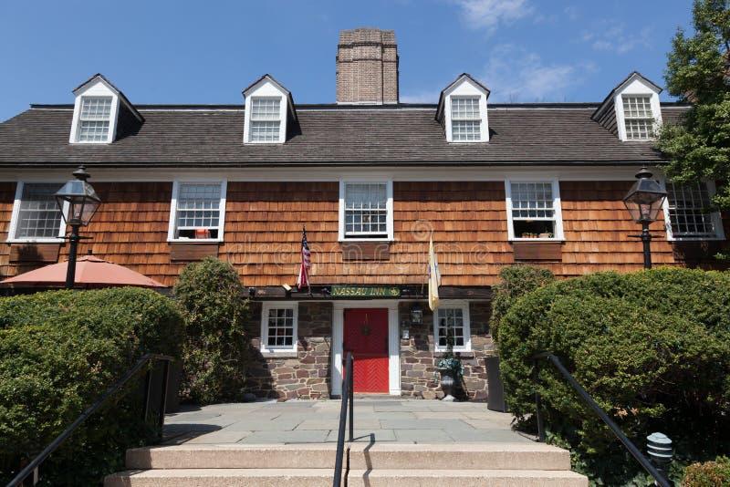 Nassau Herberg Princeton royalty-vrije stock foto