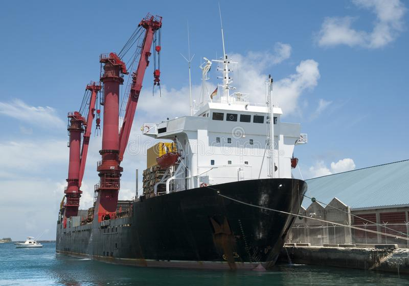 Nassau het Schip van de Stadshaven royalty-vrije stock foto's