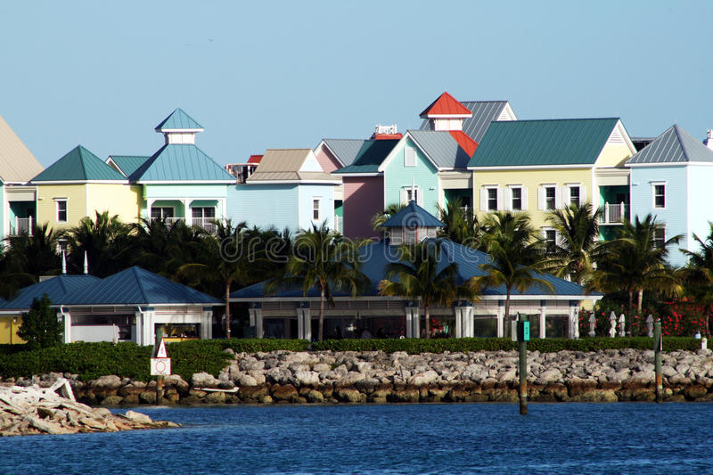 Nassau houses stock images