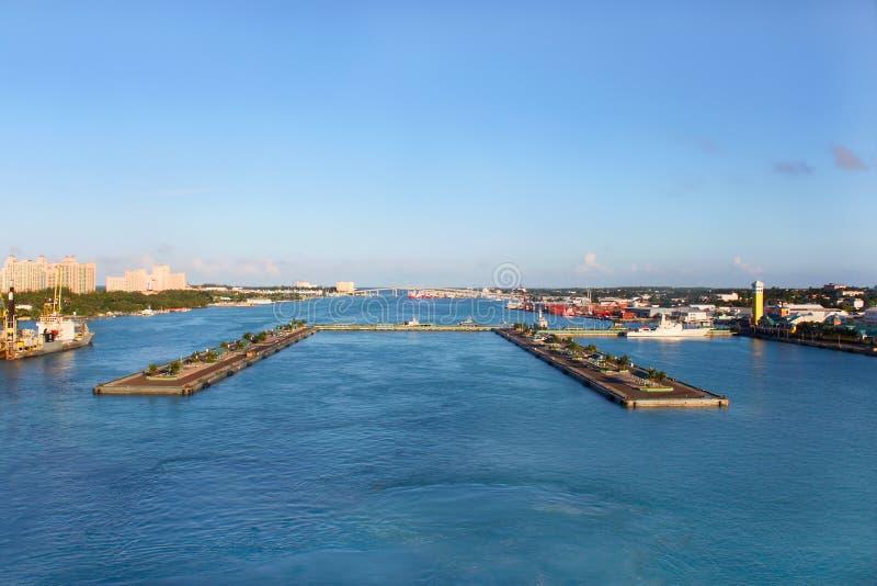 Nassau-Kanal lizenzfreie stockfotografie