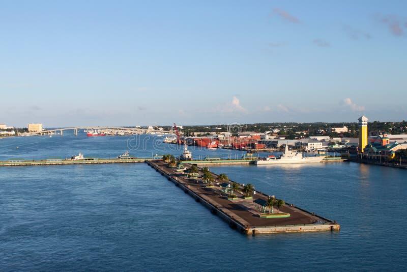 Nassau-Kanal stockbilder