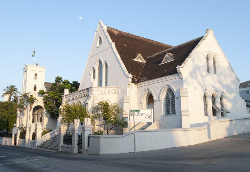 Nassau miasta kościół zdjęcie stock