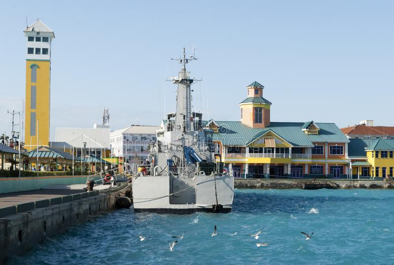 Nassau miasta port fotografia royalty free