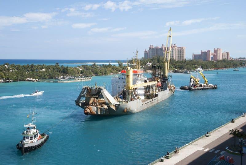Nassau miasta przemysły zdjęcie stock