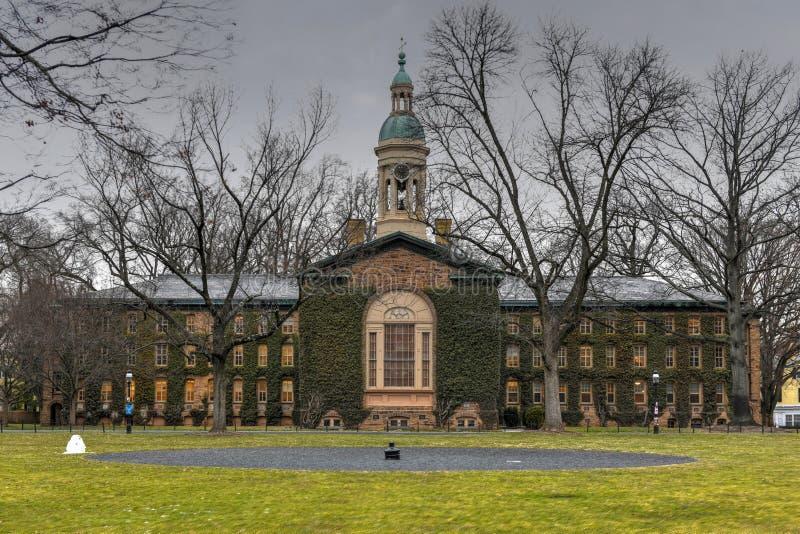 Nassau Pasillo - Universidad de Princeton fotos de archivo libres de regalías