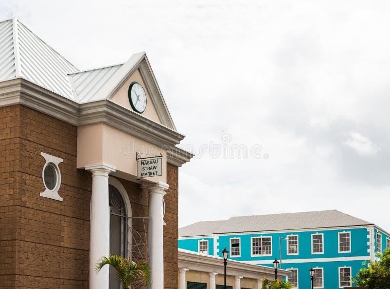 Nassau słomy rynek obraz stock
