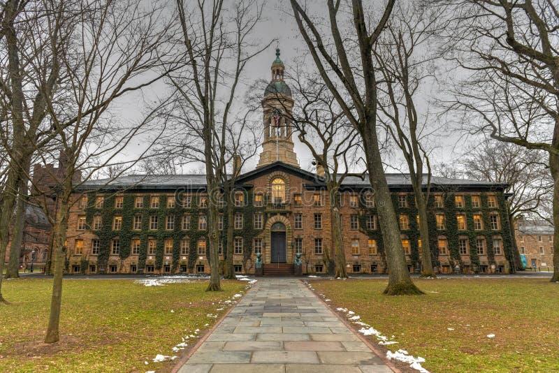 Nassau Salão - Universidade de Princeton imagens de stock