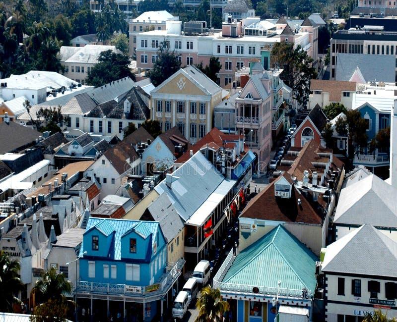 Nassau van de binnenstad stock foto