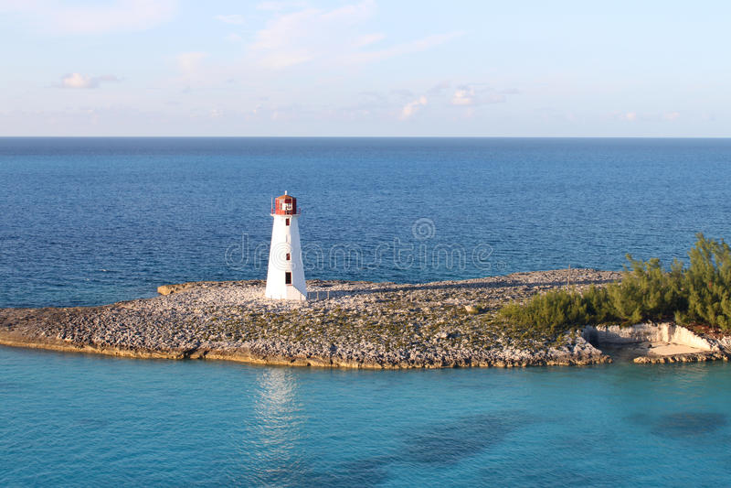 Nassau vuurtoren royalty-vrije stock foto