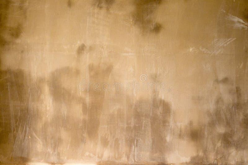 Nasser und feuchter Gips in einer Ausgangsinnenraumerneuerung lizenzfreies stockbild