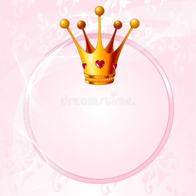 następczyni tronu ilustracja wektor