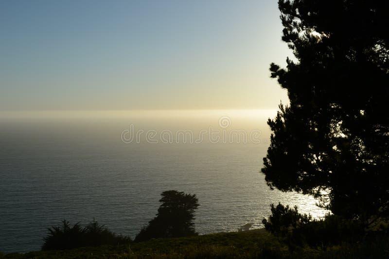 Następnie nad horyzontem dla sen! obrazy stock