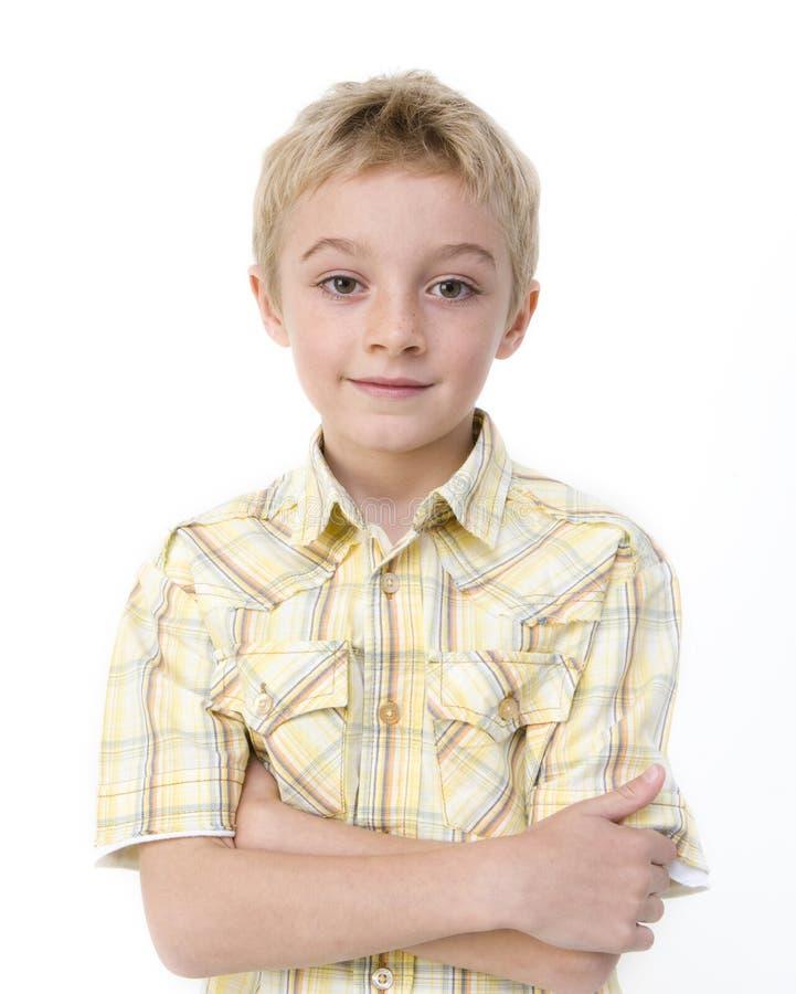 następny chłopiec drzwi zdjęcia stock