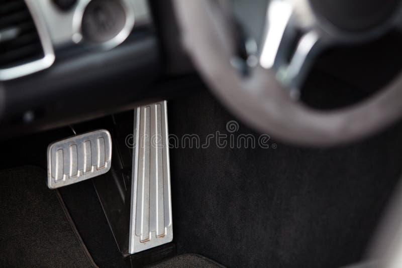 Następy w samochodzie fotografia stock