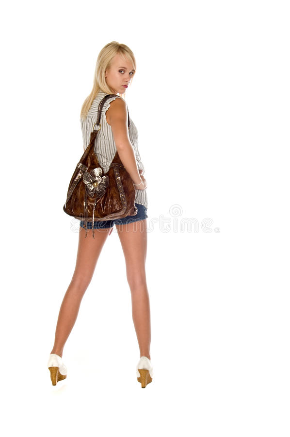 Download Następnie Atrakcyjna Drzwiowa Dziewczyna Zdjęcie Stock - Obraz: 13381454
